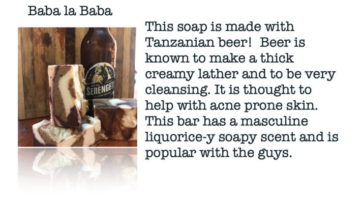 Moskito Handmade Baba la Baba Beer Soap