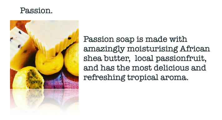 Moskito Handmade Passion Shea butter soap
