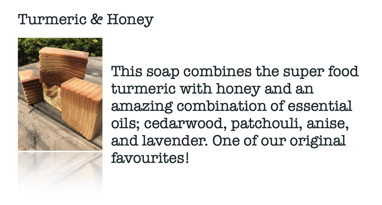 Moskito Handmade Turmeric & Honey Soap