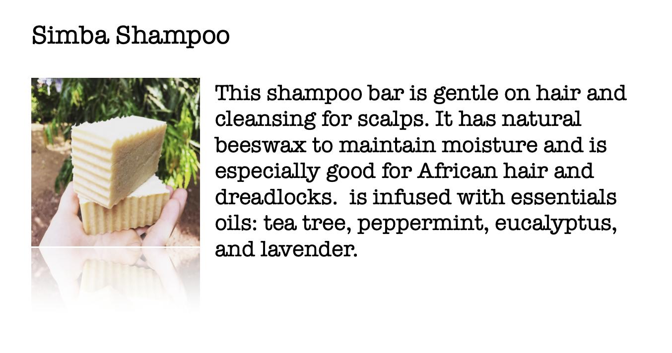 Moskito Handmade Simba Shampoo