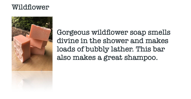 Moskito Handmade Wildflower Soap
