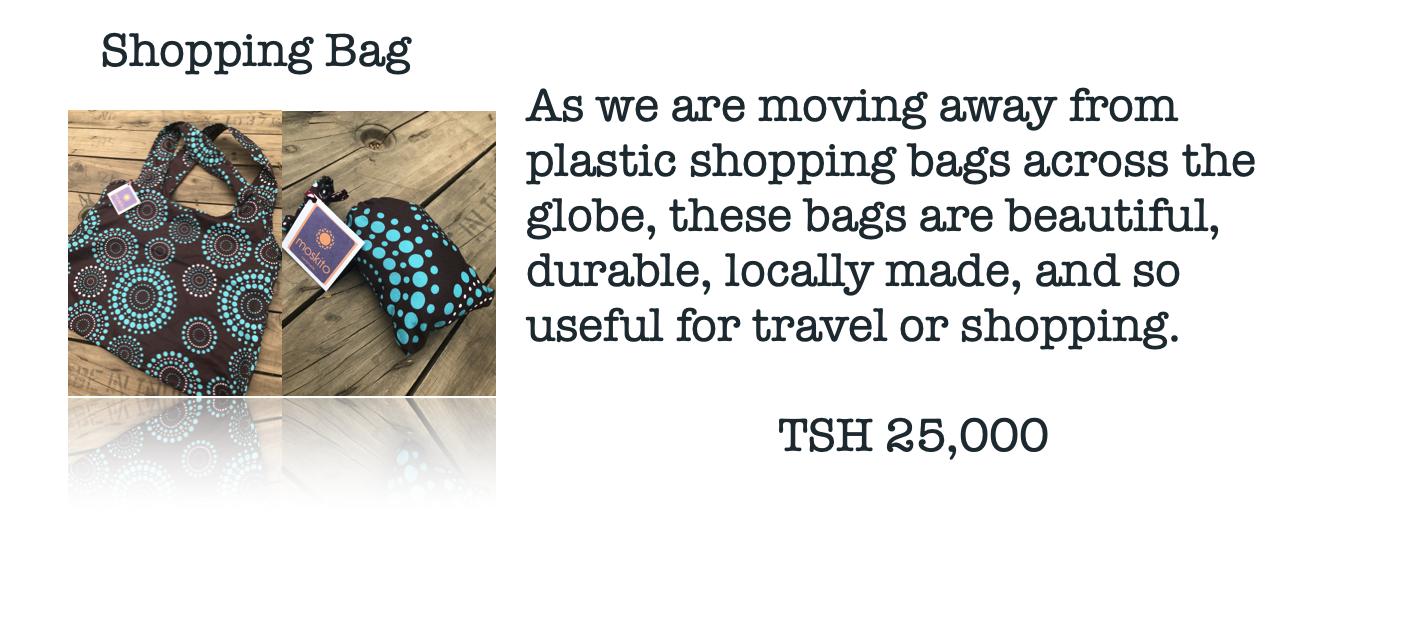 Moskito Handmade shopping bag