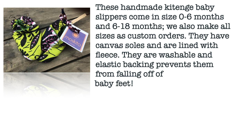 Moskito Handmade Slippers
